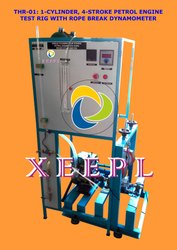 SCFS Petrol Engine Test Rig with Rope Brake Dynamometer