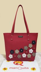 MariQuita Designer Shoulder Tote Bag