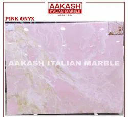 Pink Onyx Marble, Thickness: 10-50 mm