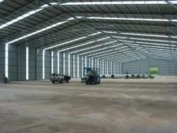 Stainless Steel Industrial Shed