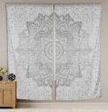 Cotton Printed Mandala Curtain