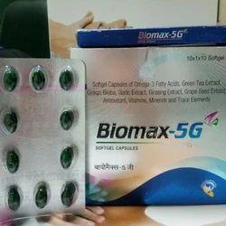 Biomax-5G Softgel Capsules, GJ Pharmaceuticals LLP