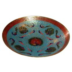 Brass Round Shape Designer Bowl