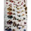 Arya Floral Printed Silk Fabric, Gsm: 80-150