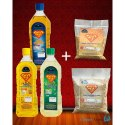 Dappa Kadai Food Oil Ultimate Combo Pack, 500 G Of Dal, Packaging Type: Packet And Plastic Bottle