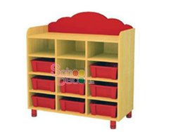 Toy Shelf For Kids School Activity Room.