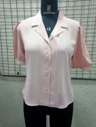 Pink Ladies Collared Shirt