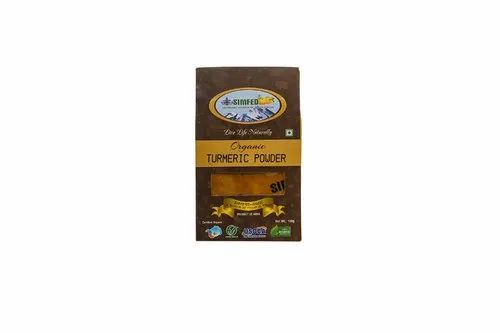 Unpolished Simfed Organic Turmeric Powder, Packaging Size: 1 Kg, Packaging Type: Packets