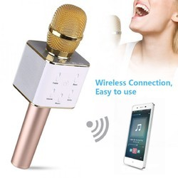 Wireless Microphone Karaoke Q7