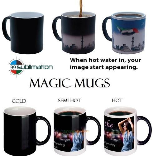 Magic Mug Printing Service In Indore By Puran Sublimation