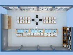 Showroom Designing, Showroom Interior