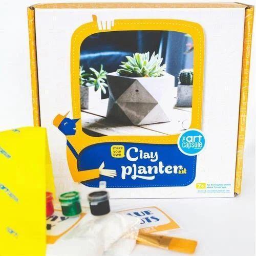 clay plant pot making kit Pot Clay Planter Kit
