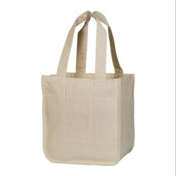 Cotton Canvas Shopping Market Tote Bag