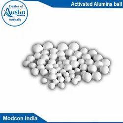 Austin Crystals Activated Alumina Balls, Purity: 100%, Grade Standard: Bio-Tech