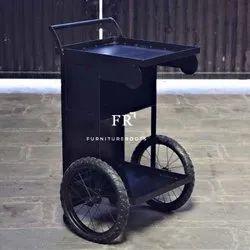 Kitchen Carts Industrial Kitchen Island Cart Unique Cart Vintage Oak Finish Industrial Kitchen Cart