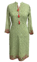 Full Sleeves Embroidery Kurti