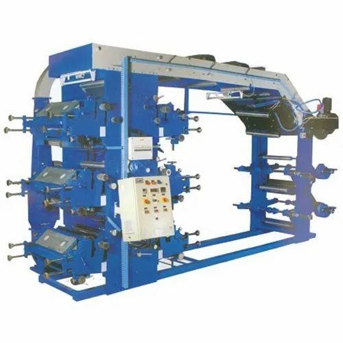Rajshree Mild Steel Automatic Flexographic Printing Machine