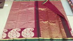 Red Banarasi Fancy Saree