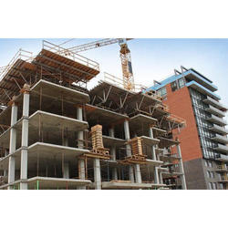 Concrete Frame Structures Commercial Complex Construction Services, Waterproofing System