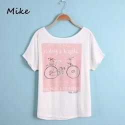Ladies Printed T Shirt