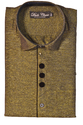 38 And 42 Gold Mens Party Wear Shirts