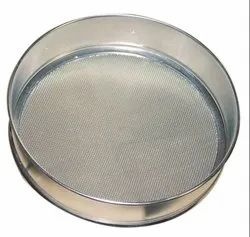 Silver Stainless Steel Sieve