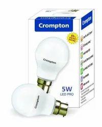 Crompton 5w B22 White LED Bulb