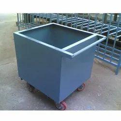 Mild Steel Scrap Trolley