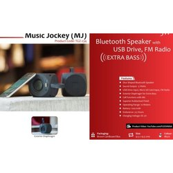 Bluetooth Speaker with USB Drive FM Radio