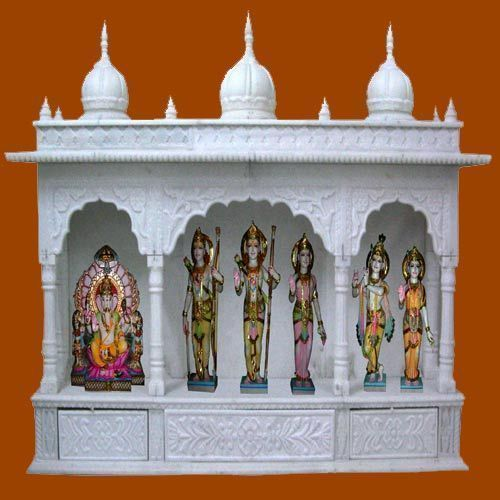 Multicolor Marble Temple Rs 40000 Piece Jain Shwetamber Moorti