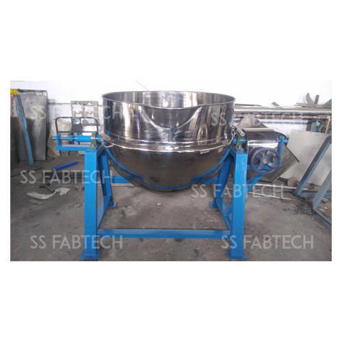 500L Steam Jacketed Tilting Kettle