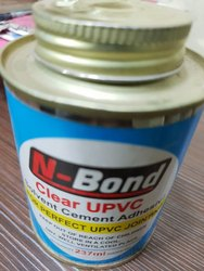 Clear UPVC Solvent Cement Adhesive