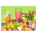 Glossy Rectangular Ceramic Fruits Printed Tile, Size: 60 * 120 In Cm, Thickness: 5-10 Mm