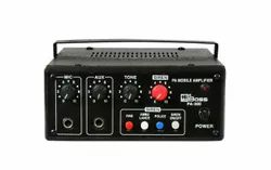 Hitune Bass PA-300 Mobile Amplifier with Siren