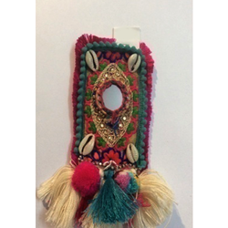 Cotton Thread Mobile Purse
