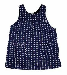 Multi Color Printed Kappogi Sleeveless Apron