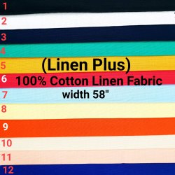 Cotton Linen Plus Shirting Fabric