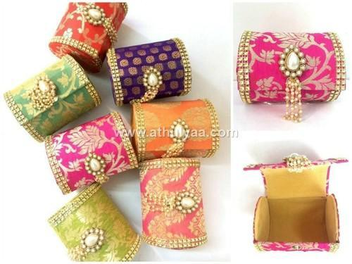 Bangle Box Seemantham Baby Shower Gifts Pouch Bo Manufacturer From Chennai