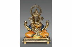 Ganesha Seating Statue