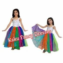 Kids Rainbow Girl Costume