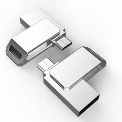 Metal Mini OTG USB Pendrive