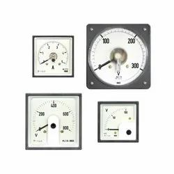 AC Moving Coil Rectifier Type Din Panel Ammeters & Voltmeters