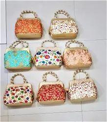 Cotton Embroidered Jaipuri Hand Bag