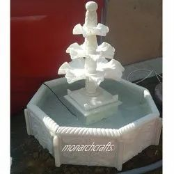 White Indoor Fountains