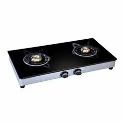 MC 246 Glass Two Burner Stove