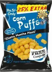 Corn Puffs, Packaging Size: 20g