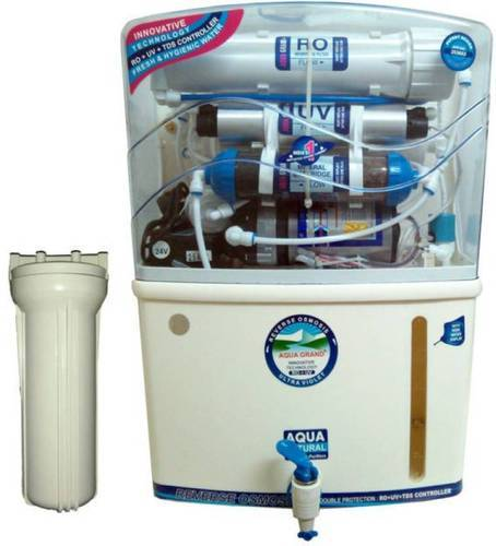 Automatic ABS Plastic Ro UV UF Water Purifier, Capacity: 15 L