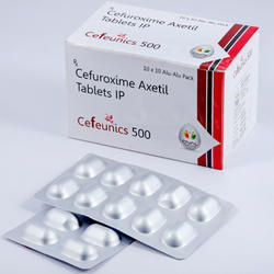 Cefuroxime Axetil 500 mg Tablets IP