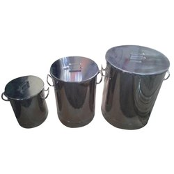 SS Capsule Powder Container