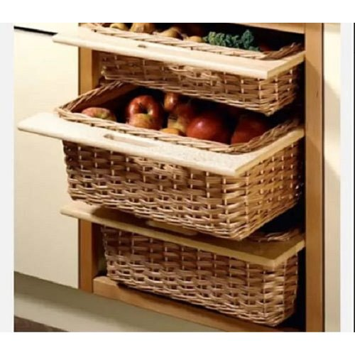 Fiber Modern Kitchen Vegetable Baskets Size 19 X 20 X 4 Inch Rectangular Id 21500260988